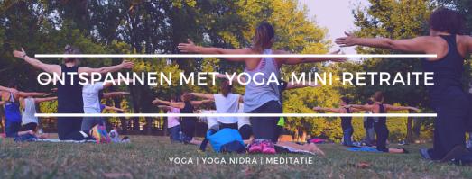 ontspannen met yoga mini-retraite