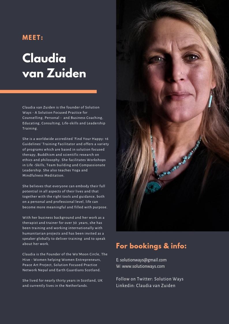 Claudia van Zuiden Bio